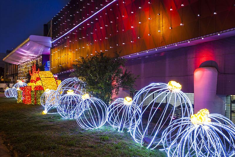 Noël : Capter les lumières de la ville