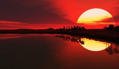 De l'art du coucher de soleil